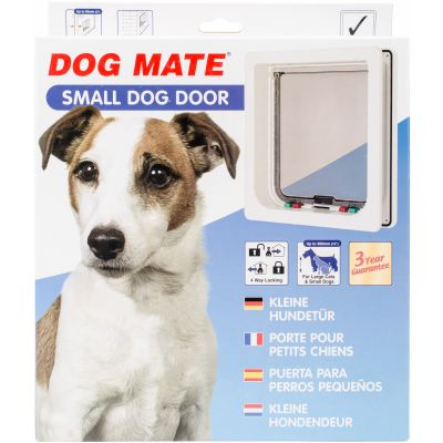 Dog Mate Small Dog Door White - DM221WD