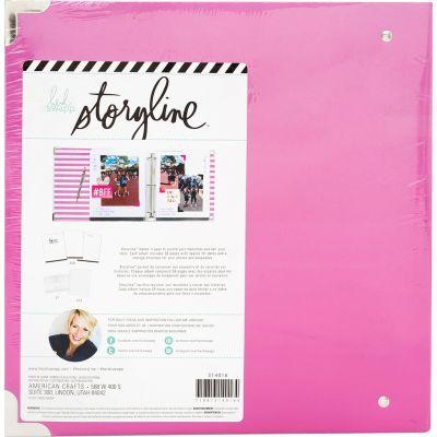 Heidi Swapp Storyline2 D Ring Album 8.5