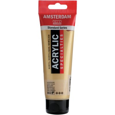 Amsterdam Standard Acrylic Paint 120ml-Light Gold