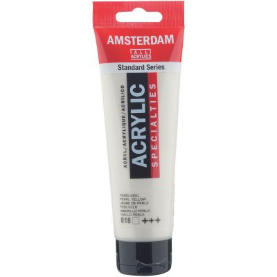 Amsterdam Standard Acrylic Paint 120ml-Pearl Yellow