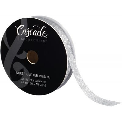 Cascade Metallic Ribbon .875