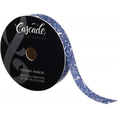 Cascade Satin Ribbon W/Wired Edge .875