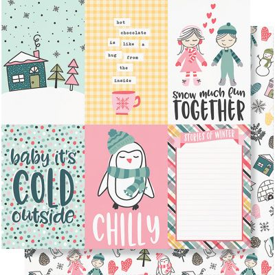 Freezin' Season Double-Sided Cardstock 12