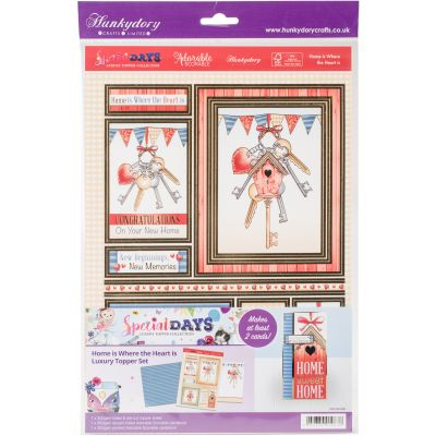 Hunkydory Special Days A4 Topper Set Home Is Where The Heart Is - SPEC908