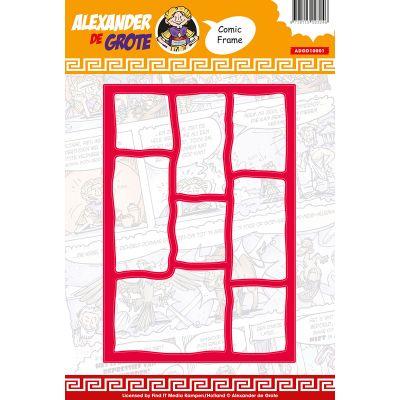 Find It Trading Alexander De Grote Die Comic Frame - ADGD0001
