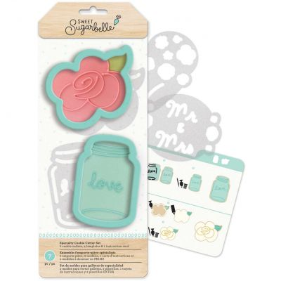 Sweet Sugarbelle Specialty Cookie Cutter Set 7/Pkg Country Rose - SB374098