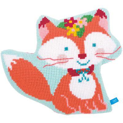 Small Fox Shaped Cushion Cross Stitch Kit 18