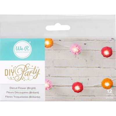 We R Diy Party Light Covers 12/Pkg Flower Layers; Brights - 660963