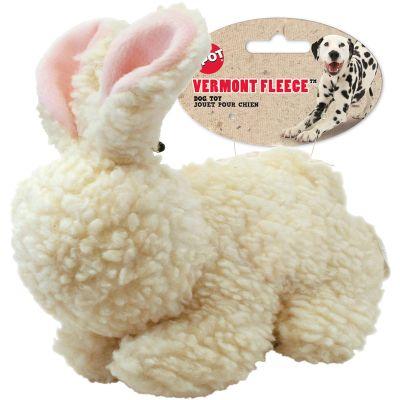 Vermont Fleece Rabbit With Squeaker 9