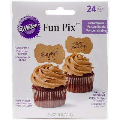 Fun Pix Blank/Kraft 24/Pkg - W9362