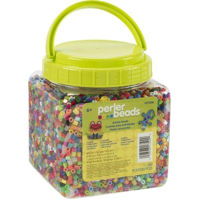 Perler Fused Beads 11,000/Pkg Multicolor - 17500