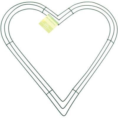 Wire Heart Wreath-16