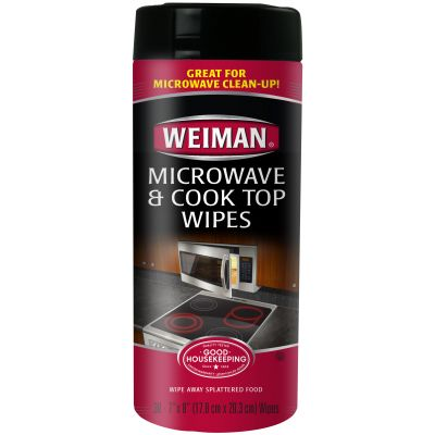 Weiman Microwave & Cook Top Wipes 30 Wipes/Pkg - W90