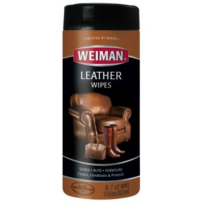 Weiman Leather Wipes 30 Wipes/Pkg - WW91