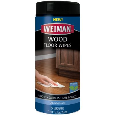 Weiman Wood Floor Wipes 24 Wipes/Pkg - W521