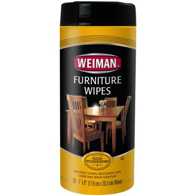 Weiman Wood Furniture Wipes 30 Wipes/Pkg - W95