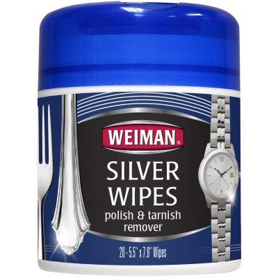 Weiman Silver Wipes 20 Wipes/Pkg - W48