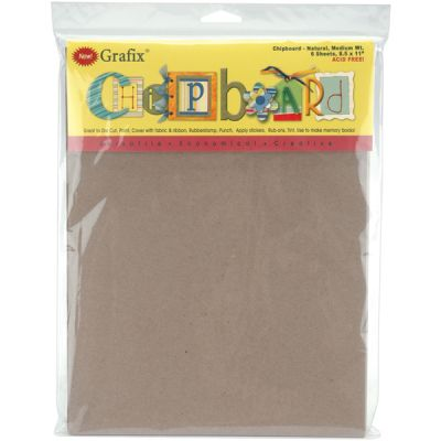 Grafix Medium Weight Chipboard Sheets 8.5
