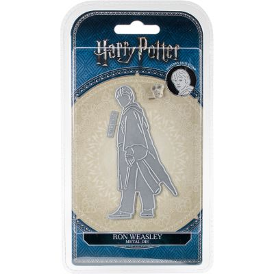 Harry Potter Die And Face Stamp Set Ron Weasley - DIS2304