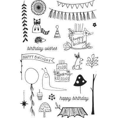 Flora & Fauna Clear Stamps 4