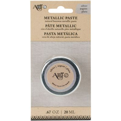 Art C Wax Paste Metallic 20Ml Silver - ARTCWAX-25970