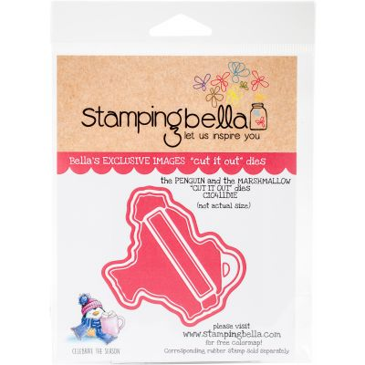 Stamping Bella Cut It Out Dies The Penguin And The Marshmallow - CIO411