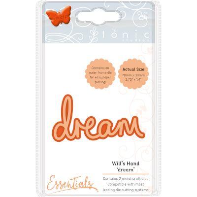 Tonic Studios Essentials Miniature Moments Sentiment Die Dream - 1886E