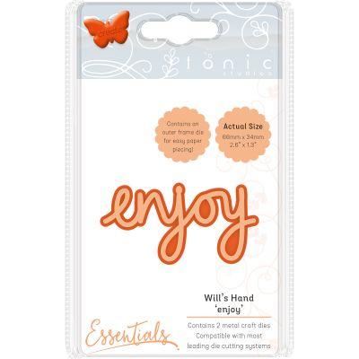Tonic Studios Essentials Miniature Moments Sentiment Die Enjoy - 1887E
