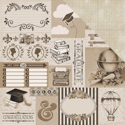 Accolade Double Sided Cardstock 12
