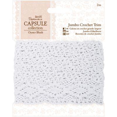 Papermania Oyster Blush Jumbo Crochet Trim 2M - PM358204