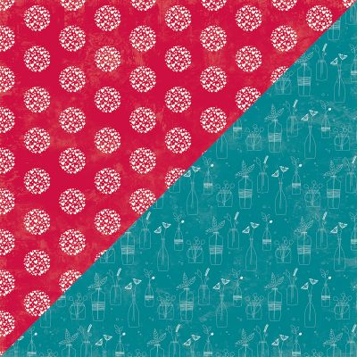 Bohemian Brew Double Sided Cardstock 12