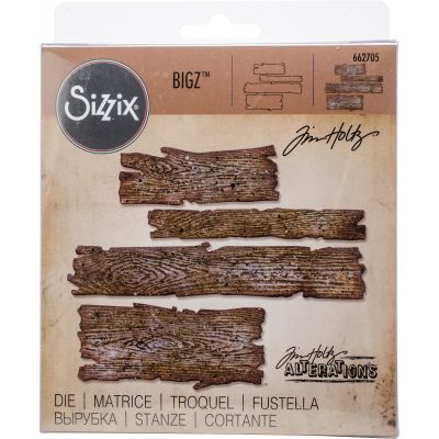 Sizzix Bigz Die By Tim Holtz Planks - 662705