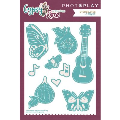 Photoplay Etched Die Gypsy Rose - GY8821