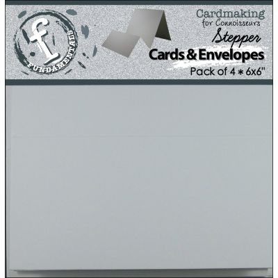 Fundamentals Stepper Cards W/Envelopes 6