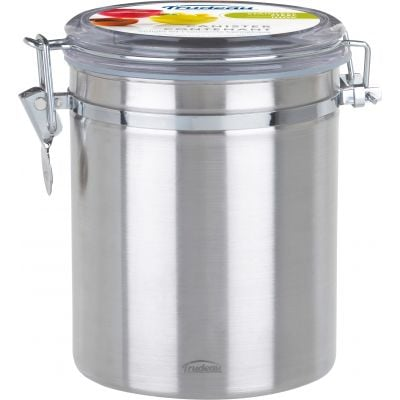 Stainless Steel Coffee Canister 52Oz Silver - 871802