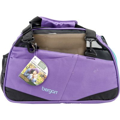 Bergan Voyager Comfort Carrier Large Purple/Black - 88669