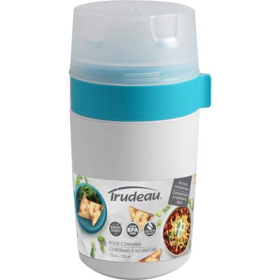 Dual Food Container Blue - 31808329