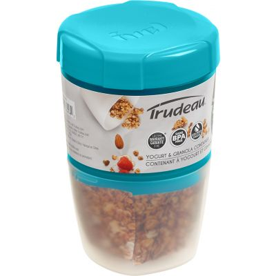 Yogurt & Granola Container W/Ice Lid Blue - 38909326