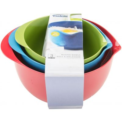 Melamine Mixing Bowl Set Red/Blue/Green - 0993010A