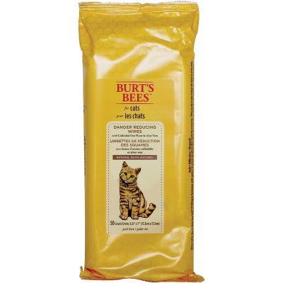 Burt'S Bees Cat Wipes 50/Pkg Dander Reducing - FFP7372