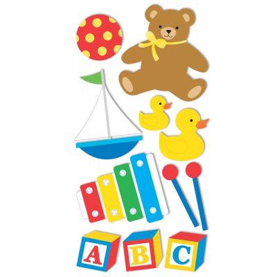 Sandylion Essentials Dimensional Stickers Baby Toys - PESL-85