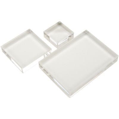 Apple Pie Memories Acrylic Stamp Blocks 3/Pkg .5