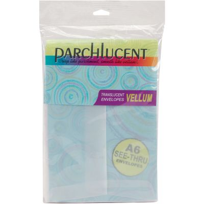 Leader A6 Parchlucent Vellum Envelopes (4.75