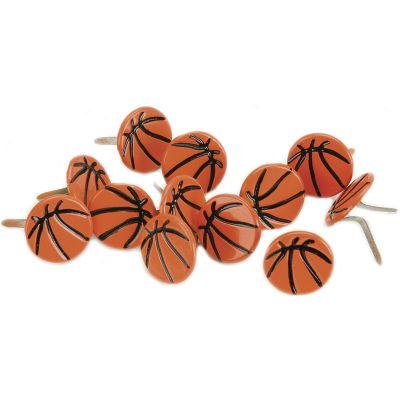 Eyelet Outlet Shape Brads 12/Pkg Basketballs - QBRD-204D