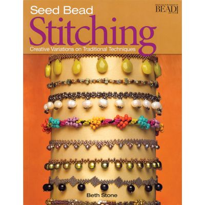 Kalmbach Publishing Books Seed Bead Stitching - KBP-62526