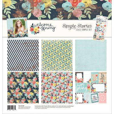 Simple Stories Simple Sets Collection Kit 12