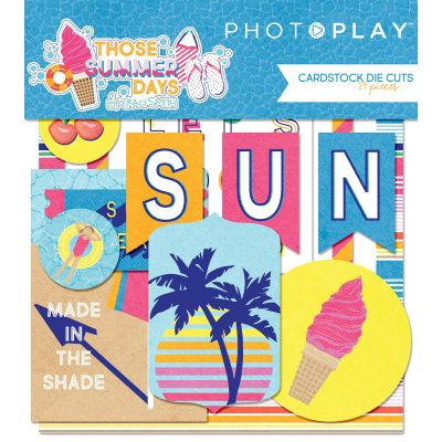 Those Summer Days Cardstock Die Cuts  - TS8865
