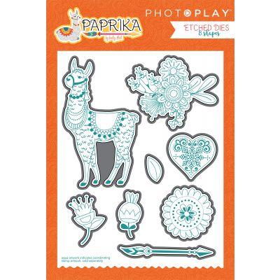 Photoplay Etched Die Paprika - PK8845