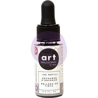 Prima Color Philosophy Dye Ink Refill .5Oz Warm Gray - CPDIR-30645