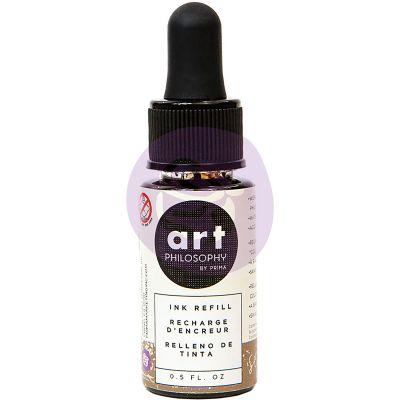 Prima Color Philosophy Dye Ink Refill .5Oz Sepia - CPDIR-30737